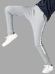 Grey Fashion Two Side Pockets Sport Trousers