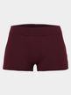 Burgundy Bodycon Gym Shorts