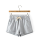 Active Drawstring Loose Sports Short in Grey