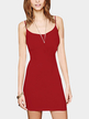 Red Cami Bodycon Mini Dress