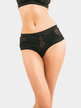 Black Lace Triangle See-throught Panties